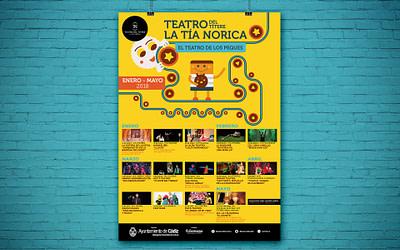 Campaña de publicidad – Teatro del Títere – La Tía Norica (Enero – Mayo 2018)
