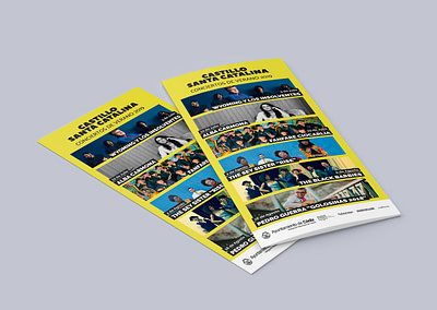 Campaña publicitaria – Castillo Santa Catalina (Julio-Agosto 2019)