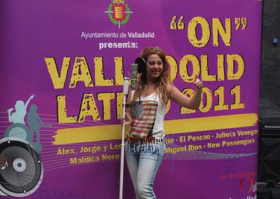 Evento 4 - Diseño y produccion de evento - On Valladolid Latino (2011)