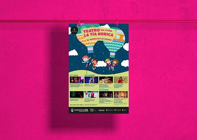 Campaña de publicidad – Teatro del Títere – La Tía Norica (Octubre – Diciembre 2019)