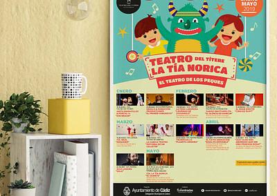 Campaña publicitaria – Teatro del Títere – La Tía Norica (Enero – Mayo 2019)