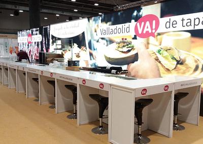 Diseño de stand - Valladolid en Madrid Fusión 2020 - 2