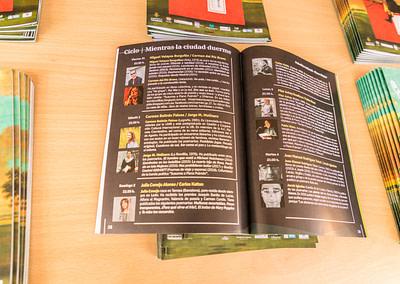 """Programa 7 - Diseño editorial - Maquetación de los soportes """"Feria del Libro de Valladolid 2019"""""""