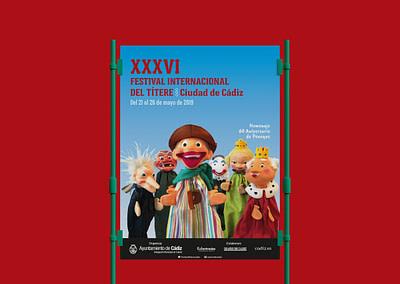 """Diseño de campaña publicitaria – XXXVI Festival Internacional del Títere """"Ciudad de Cádiz"""""""