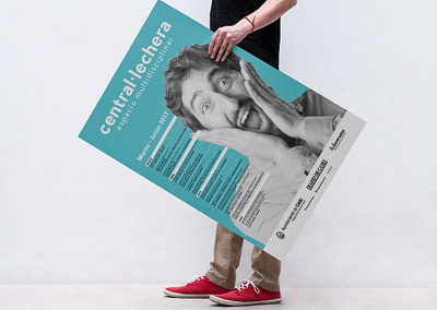 Campaña de publicidad – Sala Central Lechera (Marzo-Junio 2017)