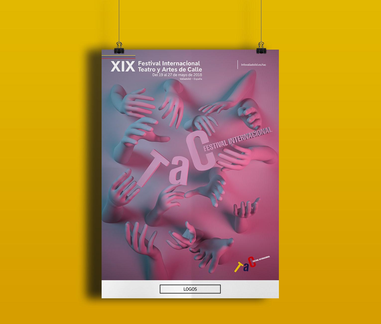 Cartel - Propuesta de campaña de publicidad - TAC 2018 Valladolid