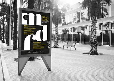 Campaña de publicidad – Ciclo de música – Manuel de Falla 2018