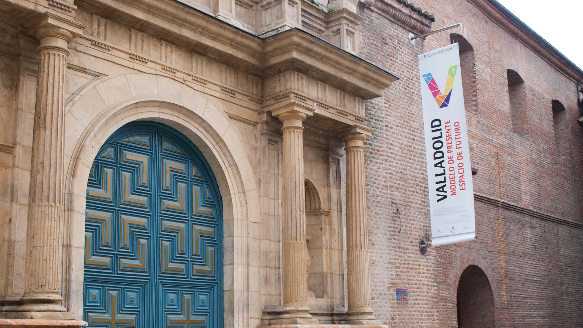Fachada banderolas - Diseño de exposiciones y museografia - Valladolid Modelo Presente Espacio de Futuro