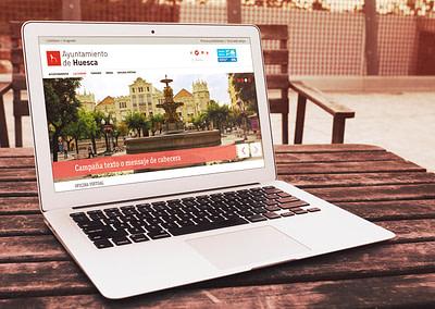 Propuesta Página Web – Ayuntamiento de Huesca