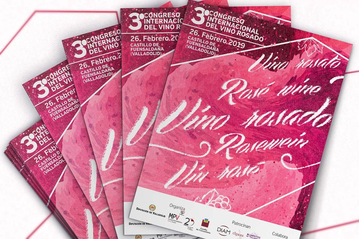 Carpetas - Campaña publicitaria - 3º Congreso Internacional del Vino Rosado