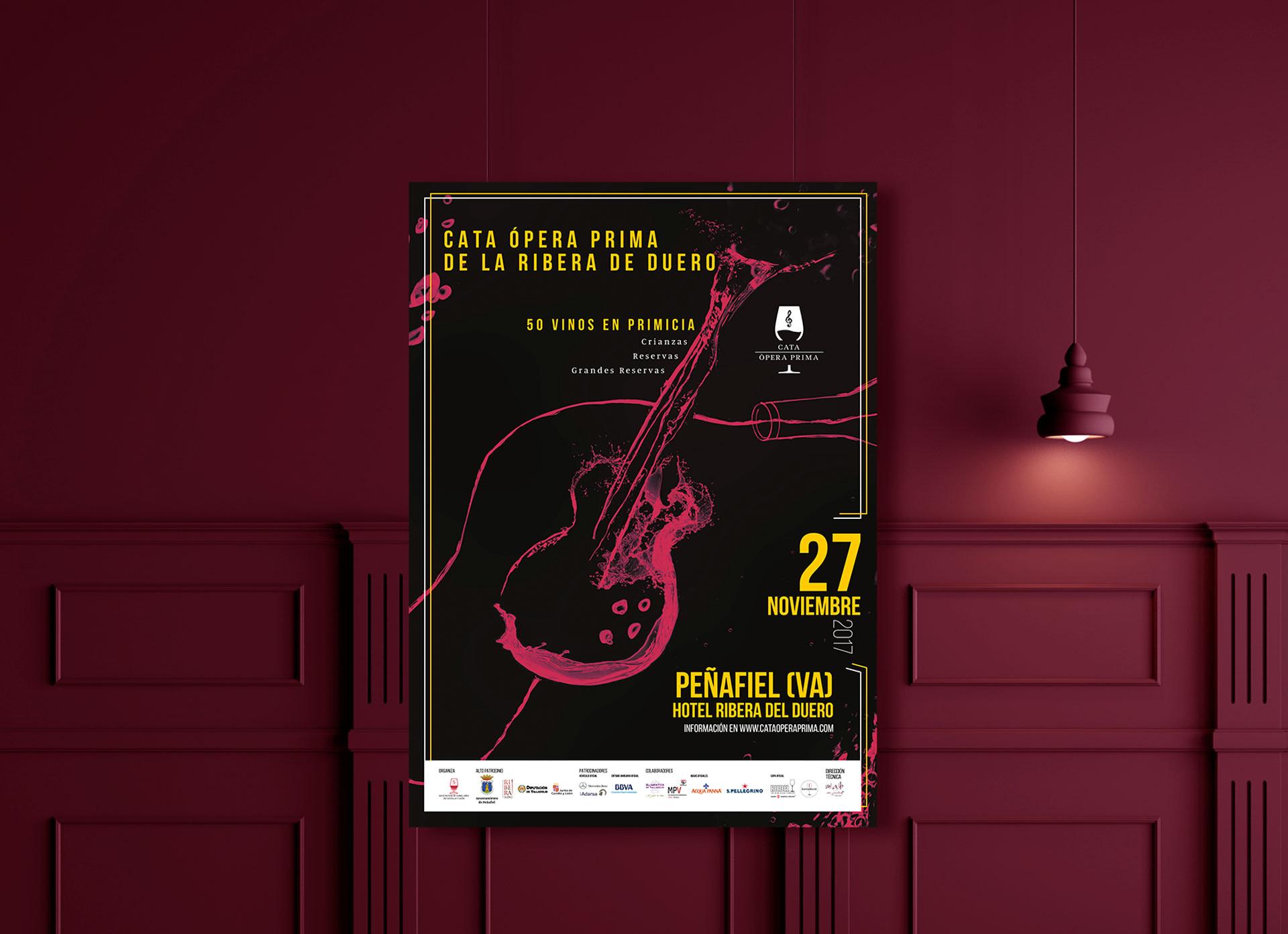 Cartel - Campaña de publicidad - Cata Ópera Prima 2017