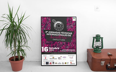 Campaña de publicidad – 2º Jornadas Técnicas Internacionales de Sumillería – Castilla y León