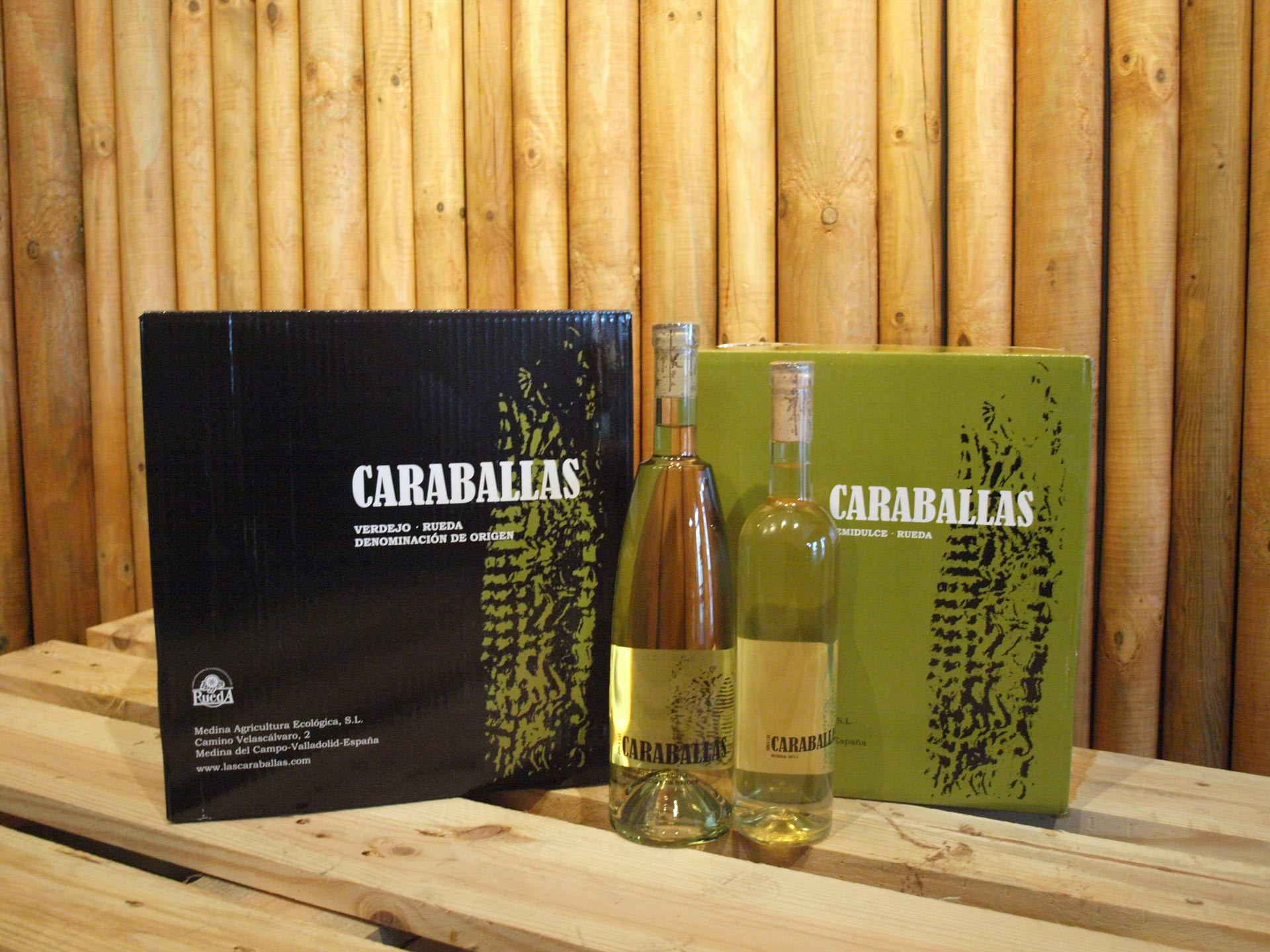 Botellas y packagings - Creacion de marca - Finca Las Caraballas