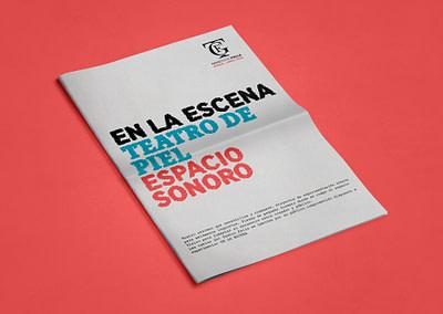 Diseño editorial de la gaceta del Gran Teatro Falla (Marzo – Junio 2018)