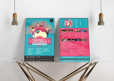 Campaña de publicidad – Teatro del Títere – La Tía Norica (Marzo – Mayo 2017)