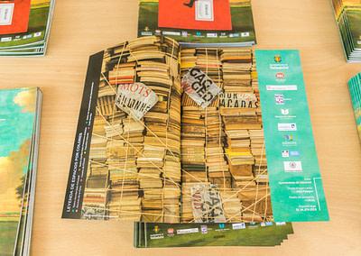 """Programa 4 - Diseño editorial - Maquetación de los soportes """"Feria del Libro de Valladolid 2019"""""""