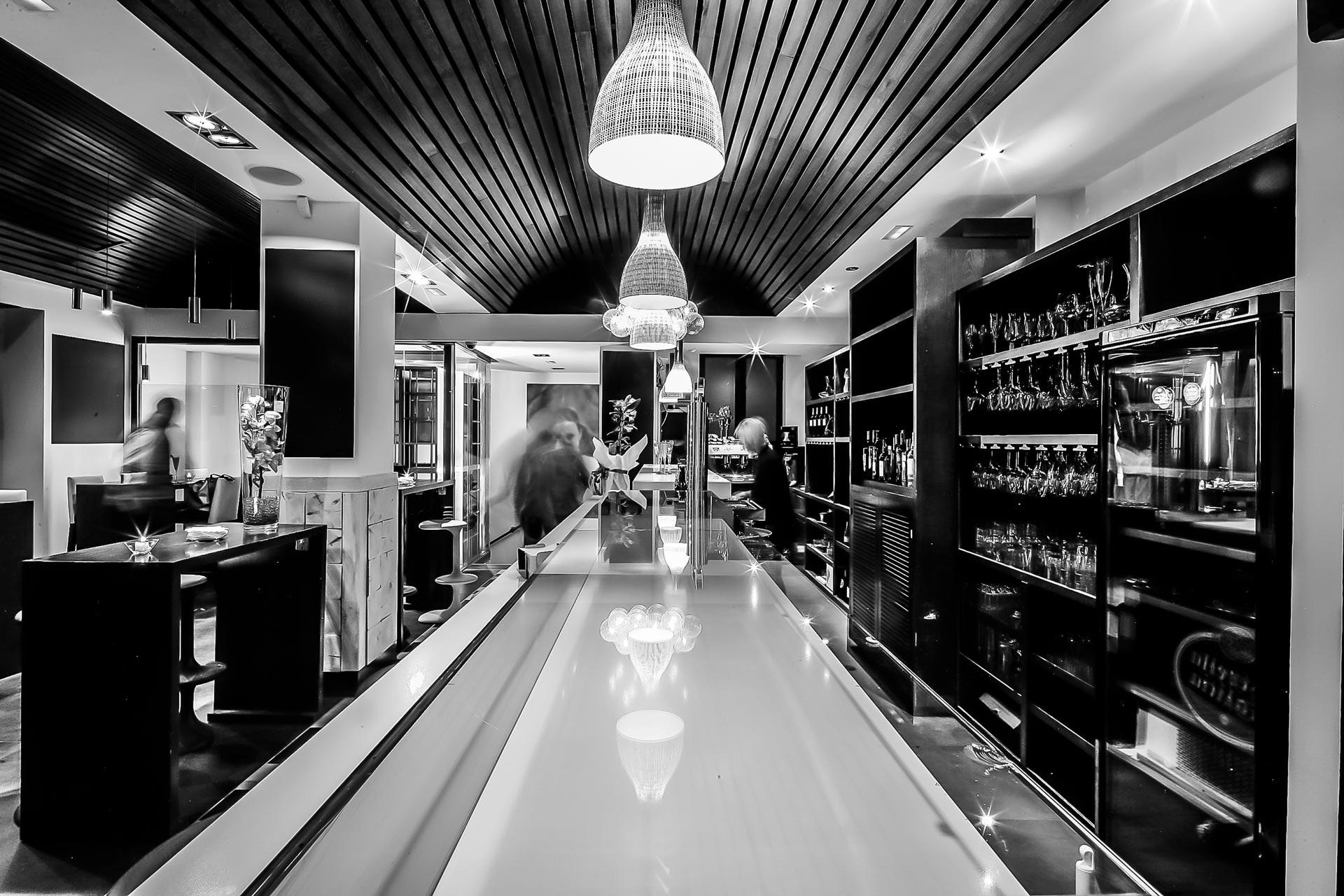 Interior 1 - Desarrollo de proyecto de interiorismo - Restaurante 5 Gustos La Cocina de Palmira Soler