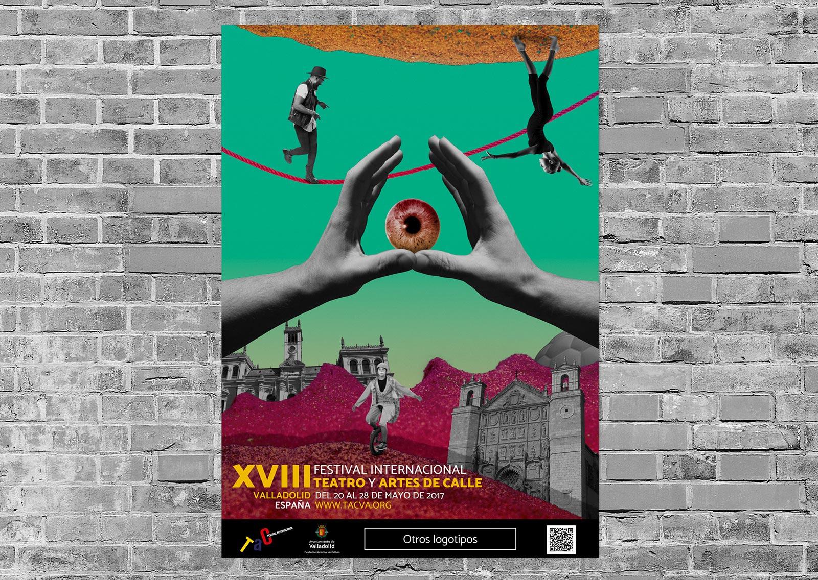Cartel - Propuesta de campaña de publicidad - TAC 2017 Valladolid