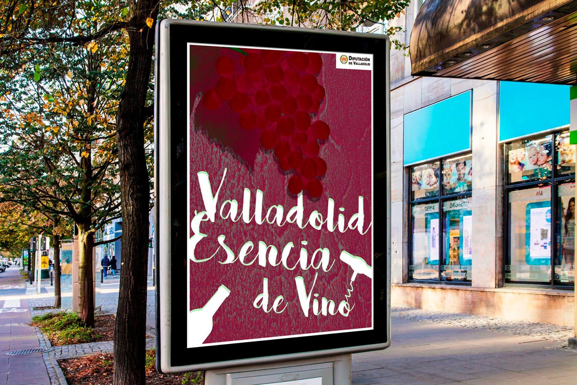 OPI exterior - Campaña de publicidad - Valladolid Esencia de Vino