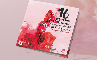 Campaña publicitaria – 16º Jornadas Flamencas – Ciudad de Valladolid