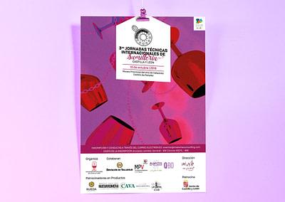Campaña de publicidad – 3º Jornadas Técnicas Internacionales de Sumillería – Castilla y León