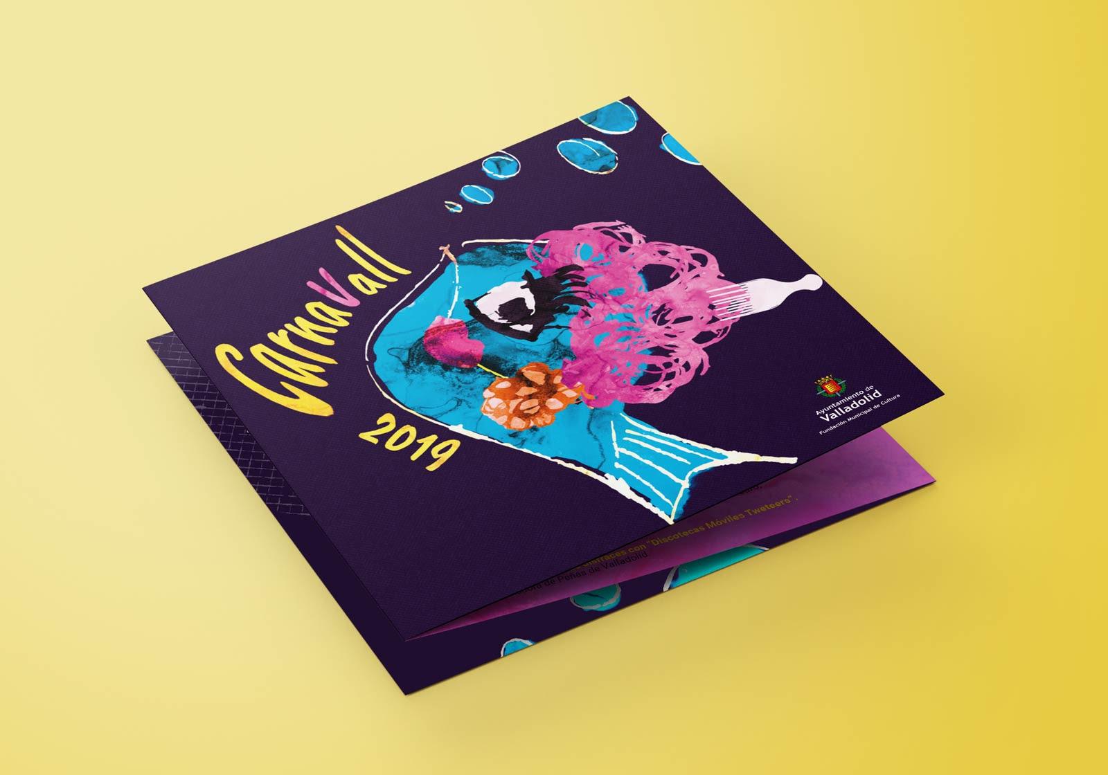 Programa - Campaña de publicidad - Carnavall 2019