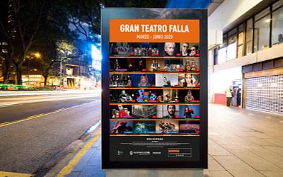 Campaña de publicidad – Gran Teatro Falla (Marzo – Junio 2020)