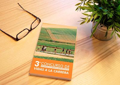 Diseño editorial del libro III Concurso de Relatos Cortos Deportivos