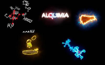 Motion graphics – Proyecciones holográficas Restaurante Alquimia