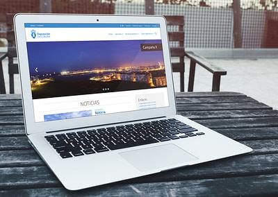 Propuesta de diseño web para el portal web de la Diputación de A Coruña