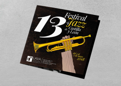 Propuesta de campaña de publicidad – 13º Festival de Jazz de Castilla y León 2018