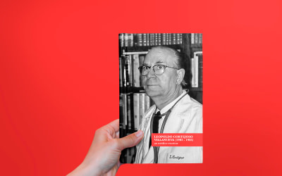Diseño editorial del libro Leopoldo Cortejoso Villanueva