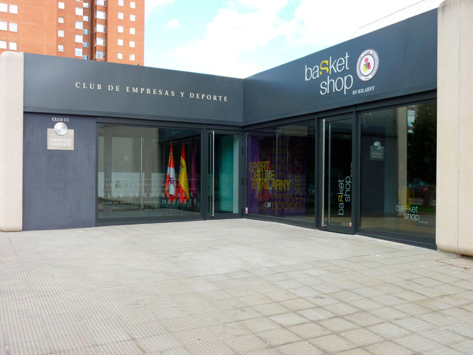 Fachada - Consultoria creativa - Plan estratégico - Club de Empresas y Deporte del Baloncesto Valladolid S.A.D.