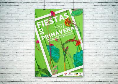 Campaña de publicidad – Fiestas de Primavera Centro de Mayores (Valladolid) (2017)