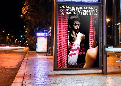 Propuesta de imagen de campaña – Día Internacional contra la Violencia hacia las Mujeres 2019 (Valladolid)