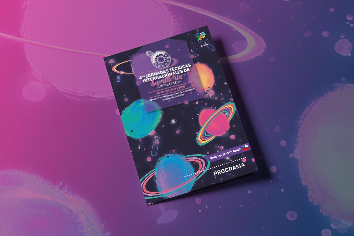 Programa portada - 4º Jornadas Técnicas Internacionales de Sumillería - Castilla y León