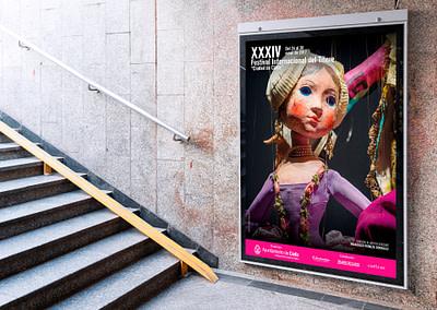 """Campaña de publicidad – XXXIV Festival Internacional del Títere """"Ciudad de Cádiz"""""""
