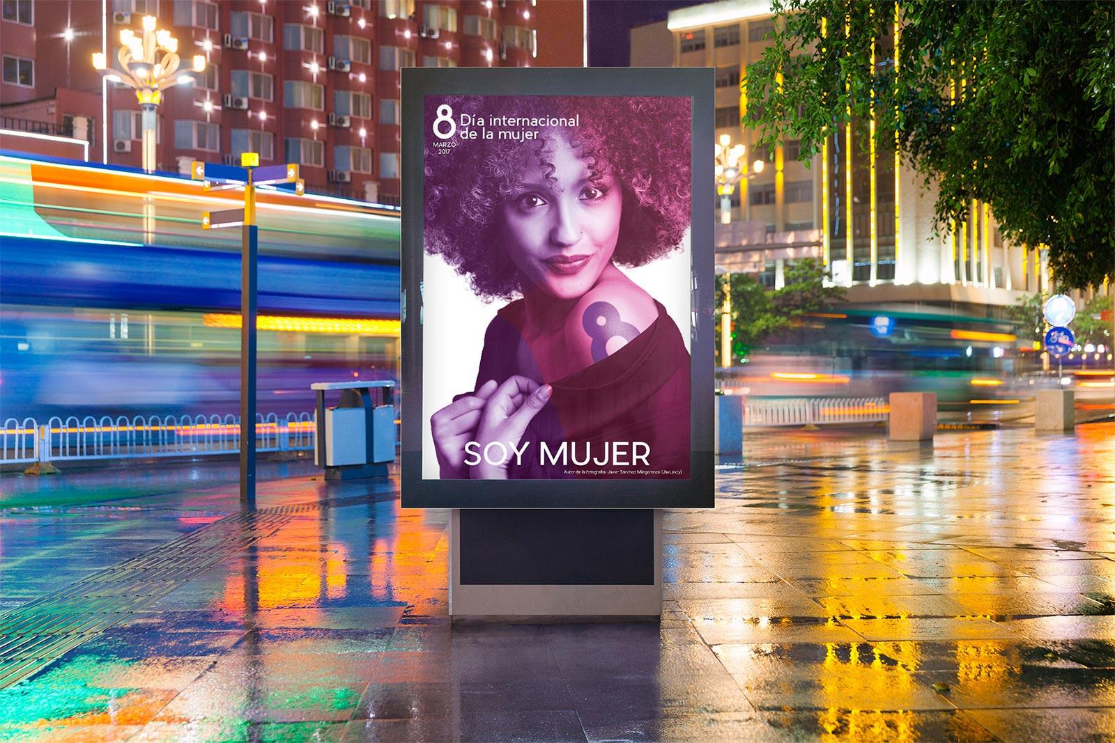 OPI - Propuesta campaña de publicidad - Día Internacional de la Mujer (Valladolid)(2018)