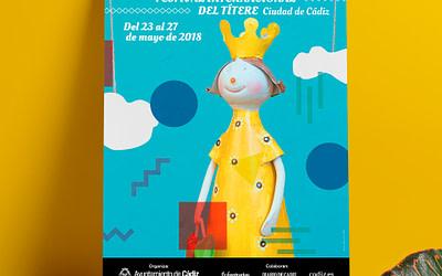 """Campaña de publicidad – XXXV Festival Internacional del Títere """"Ciudad de Cádiz"""""""