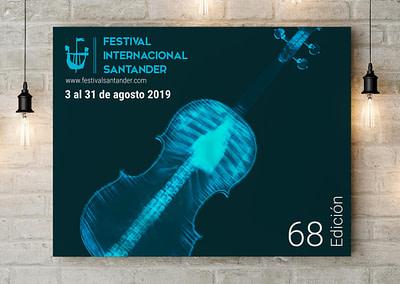 Propuesta de campaña publicitaria – 68º Festival Internacional Santander (2019)