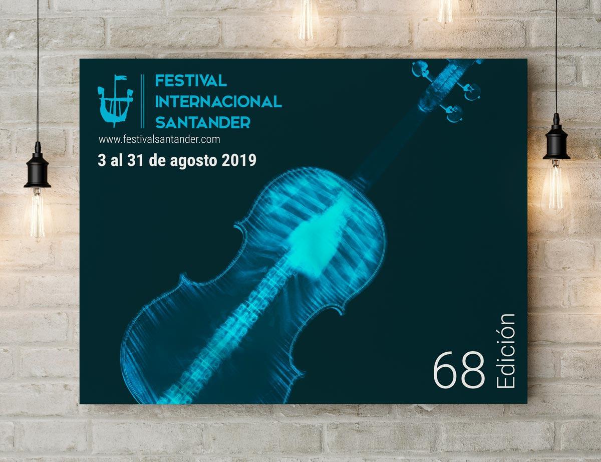Cuadro - Propuesta de campaña publicitaria - Festival Internacional Santander 2019