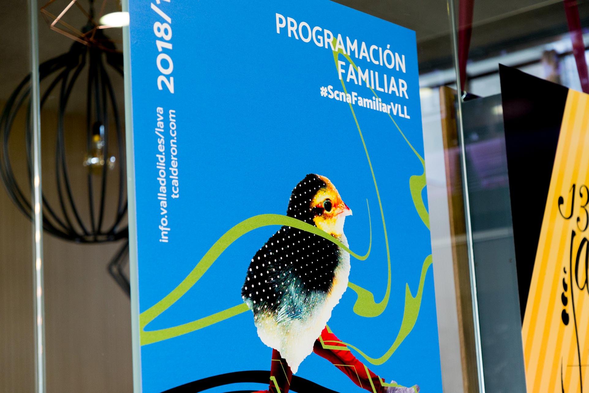 Campaña de publicidad - Cartel Programa Familiar 2 - LAVA Temporada 2018/19