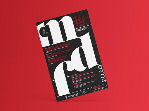 Campaña de publicidad – Ciclo de música – Manuel de Falla 2020