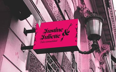 Propuesta de diseño de identidad visual corporativa de Confitería Justine y Juliette