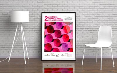 Campaña de publicidad – 2º Congreso Internacional del Vino Rosado