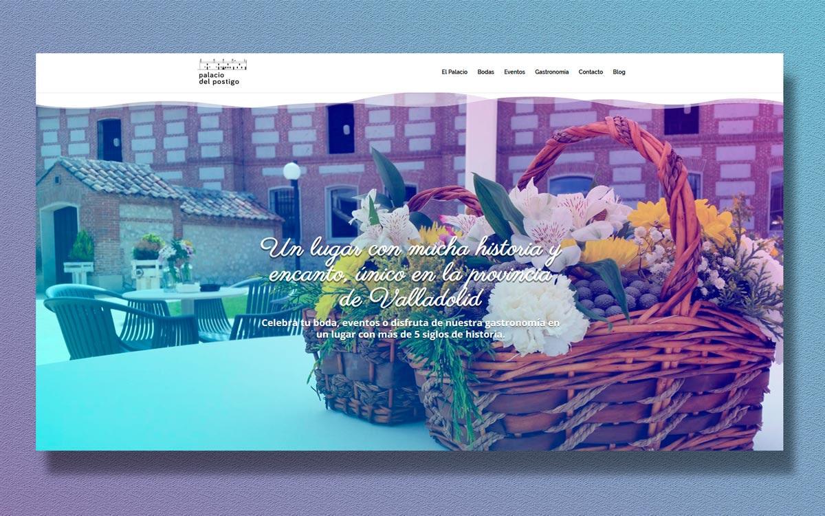 Diseño web - Palacio del Postigo