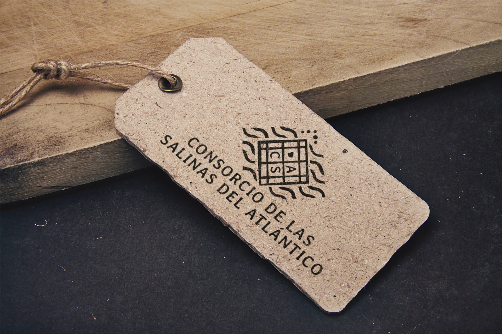Etiqueta - Desarrollo de marca - Consorcio de las Salinas del Atlántico