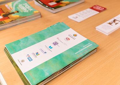 """Programa 9 - Diseño editorial - Maquetación de los soportes """"Feria del Libro de Valladolid 2019"""""""