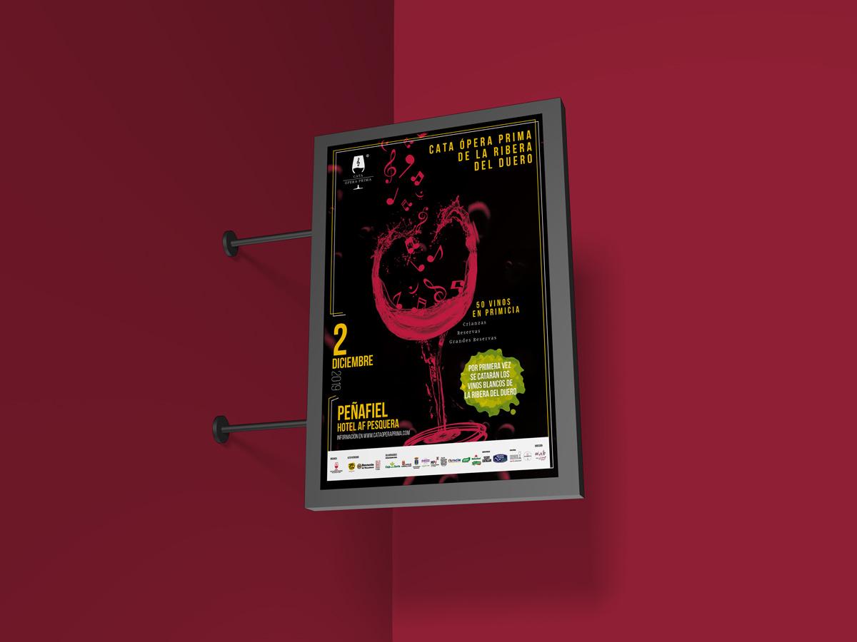 Cartel - Campaña de publicidad - Cata Ópera Prima 2019